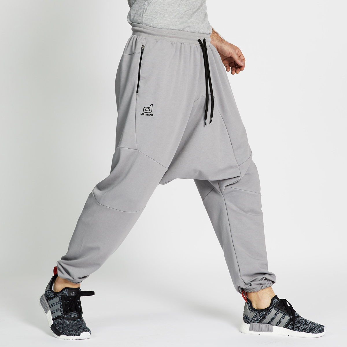 Saroual Jogging GRIS Uni evo long S18 - DCJeans ® - sarouel ... ff042439501