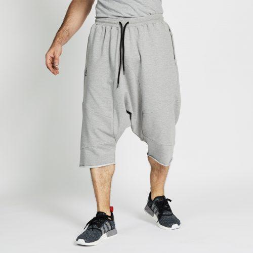 saroual jogging short gris chiné face