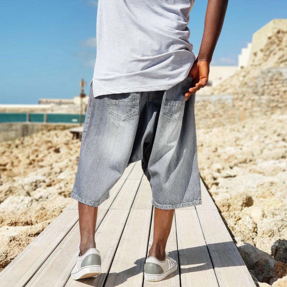 dcjeans saroual short gris
