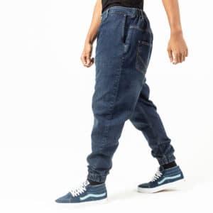 Pantalon jeans basic blue profil dcjeans