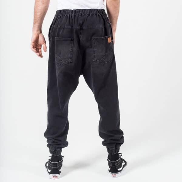 Pantalon jeans basic noir dos dcjeans