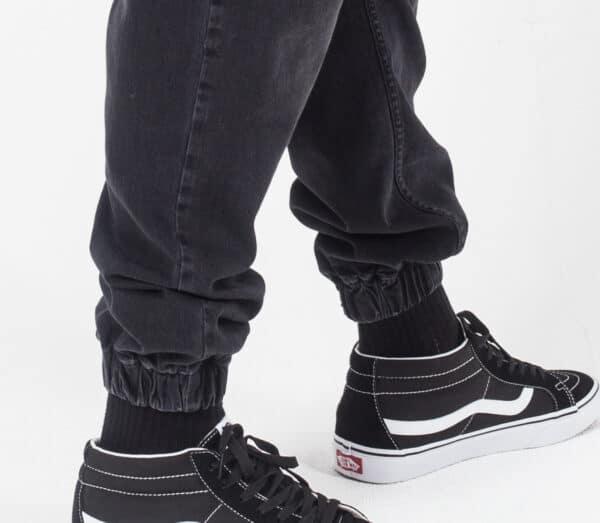 Pantalon jeans basic noir elastique dcjeans