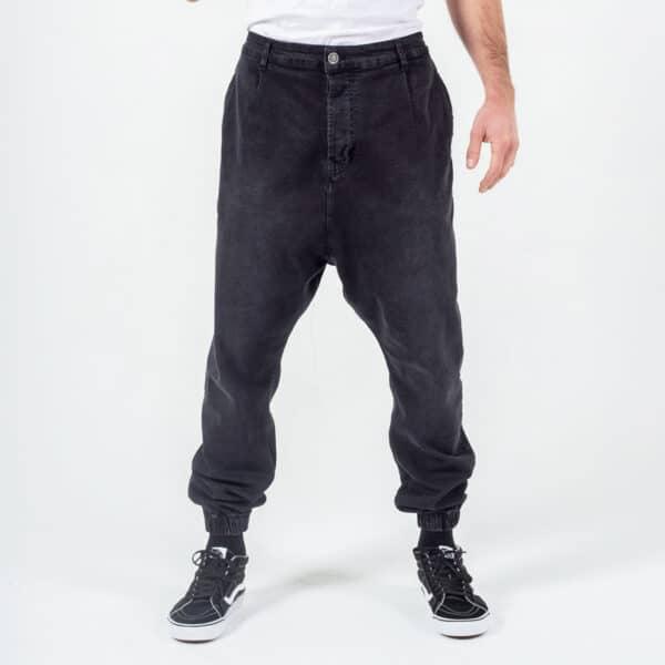 Pantalon jeans basic noir face dcjeans