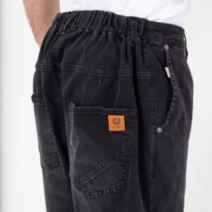 Pantalon jeans basic noir zoom dcjeans
