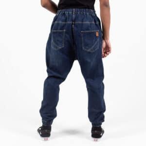 Pantalon jeans destroy blue dos dcjeans