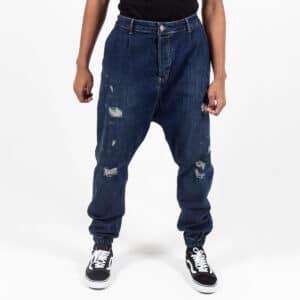 Pantalon jeans destroy blue face dcjeans