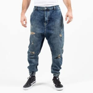 Pantalon jeans destroy dirty face dcjeans