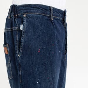 Pantalon jeans painted blue zoom dcjeans