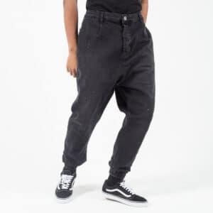 Pantalon jeans painted noir face bis dcjeans