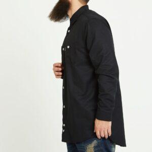 chemise chamb noir profil