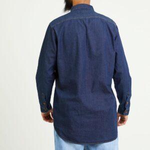 chemise jeans blue dos