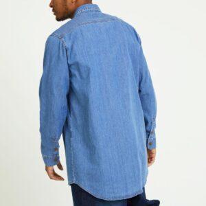 chemise jeans light dos