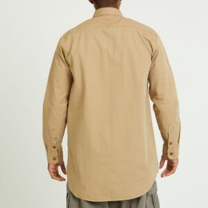 chemise twill beige dos