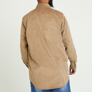 chemise velour beige dos
