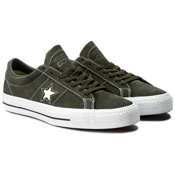 converse one star cons vert daim paire