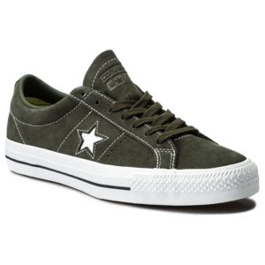 converse one star cons vert daim profil