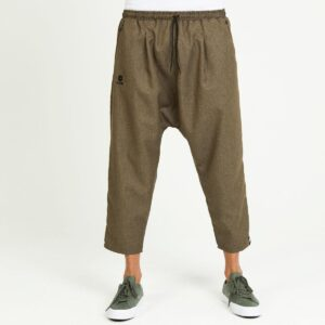 cropped trousers harem pants classic Brown face