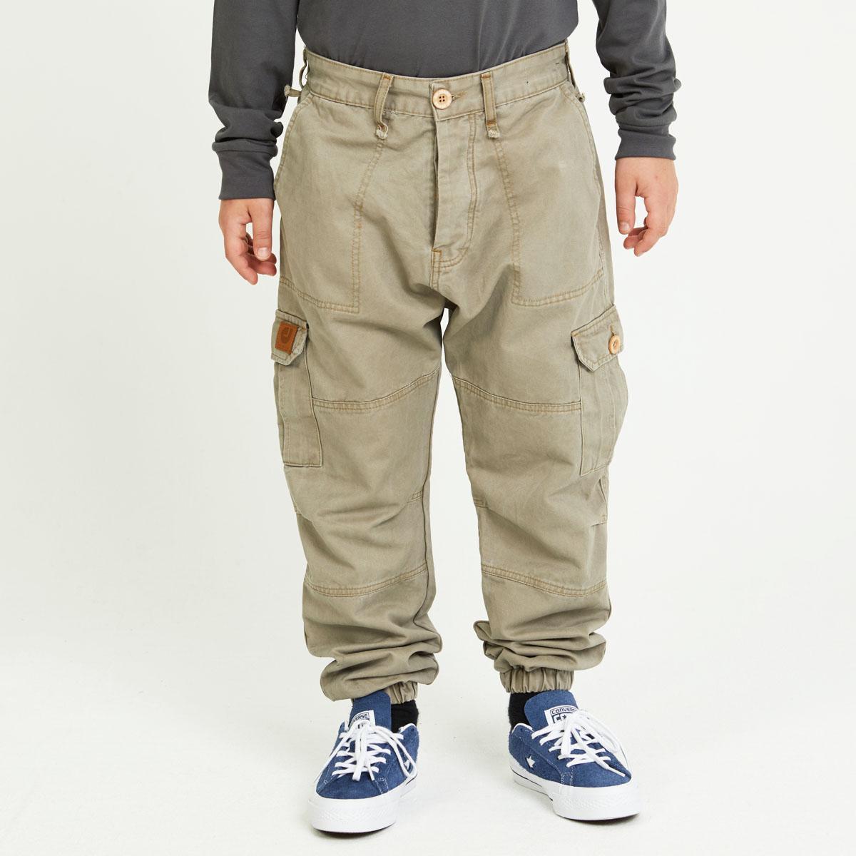 prix le plus fiable codes promo Pantalon Cargo Beige ENFANT