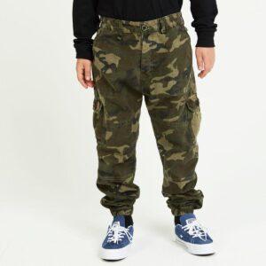pantalon cargo enfant camouflage face