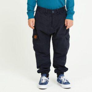 pantalon cargo enfant marine face