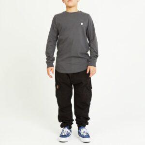 pantalon cargo enfant noir complet