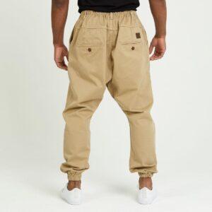 pantalon jeans ville beige dos