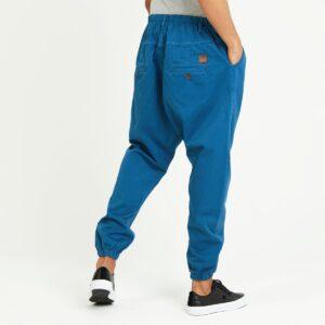 pantalon jeans ville bleu petrole dos