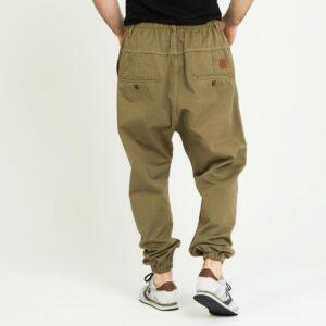 pantalon jeans ville kaki dos