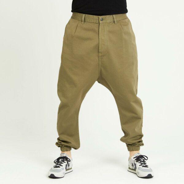 pantalon jeans ville kaki face