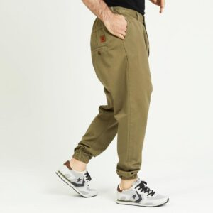 pantalon jeans ville kaki profil