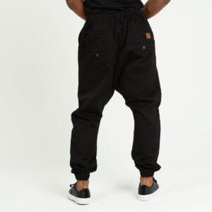 pantalon jeans ville noir dos
