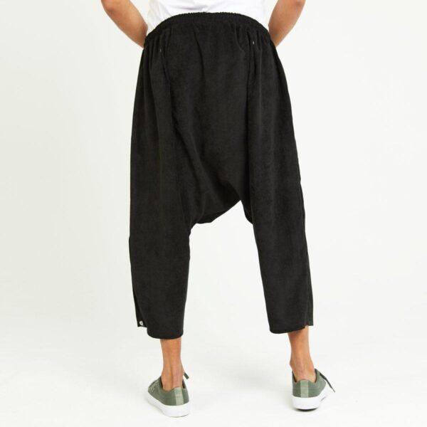 sarouel classic velours noir dos