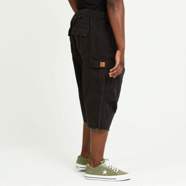 short cargo noir profil