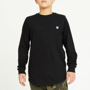 tshirt enfant noir face
