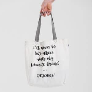 bag shopper dcjeans coton blanc