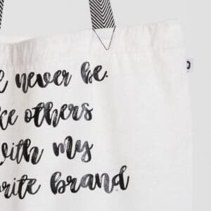 bag shopper dcjeans coton blanc zoom