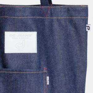 bag shopper dcjeans jeans cuir blanc zoom