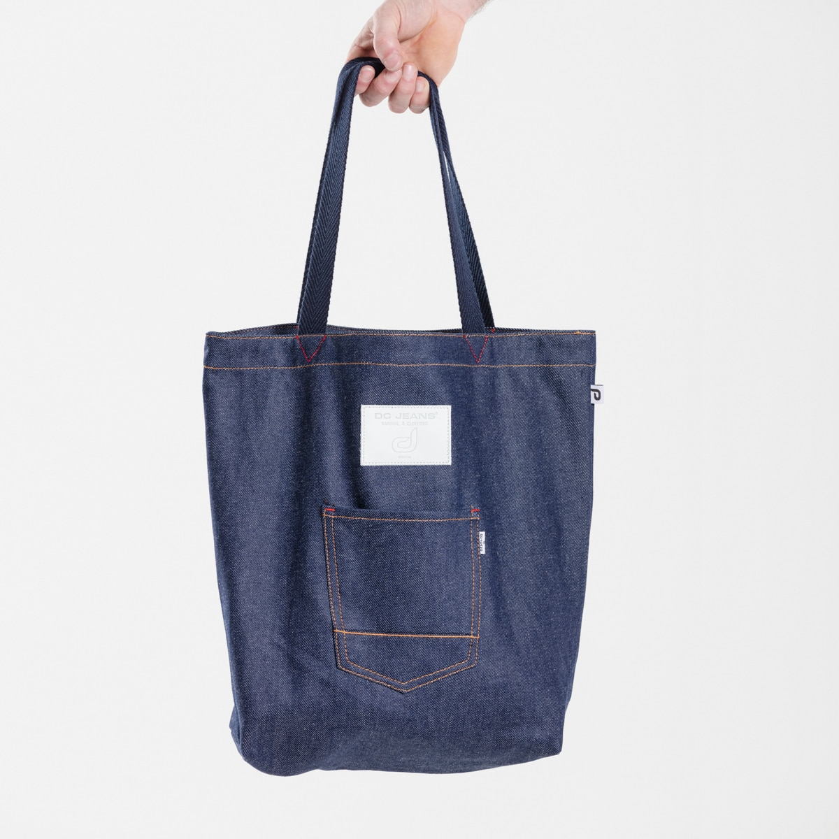 b98a3975fcbfe Tote bag Pocket denim DCJeans BL - DCJeans ® - sarouel & clothing ...