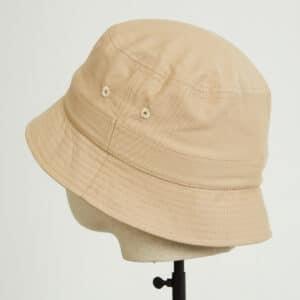 bob bucket hat chapeau beige twill dos dcjeans