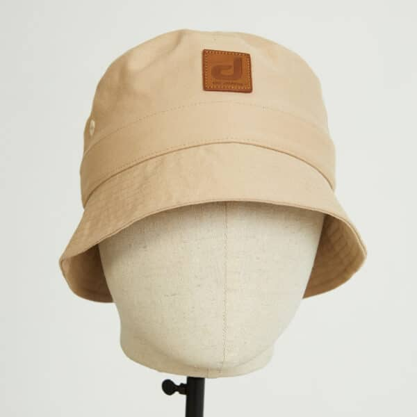 bob bucket hat chapeau beige twill face dcjeans