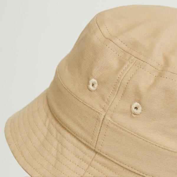 bob bucket hat chapeau beige twill zoom dos dcjeans