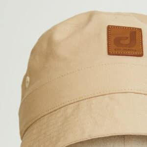 bob bucket hat chapeau beige twill zoom face dcjeans