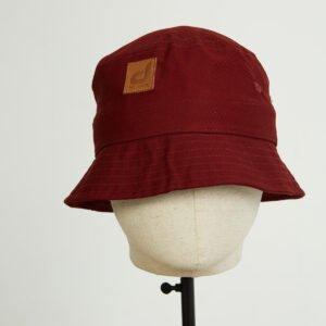 bob bucket hat chapeau bordeau twill face dcjeans
