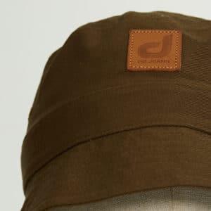 bob bucket hat chapeau kaki twill zoom face dcjeans