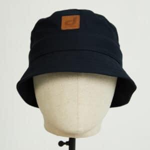 bob bucket hat chapeau marine twill face dcjeans