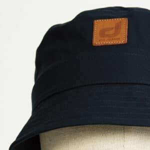 bob bucket hat chapeau marine twill zoom face dcjeans