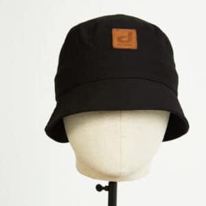 bob bucket hat chapeau noir twill face dcjeans