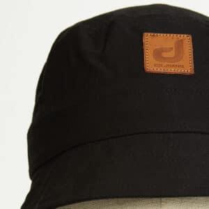 bob bucket hat chapeau noir twill zoom face dcjeans