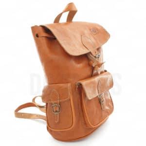 sac à dos cuir profil dcjeans