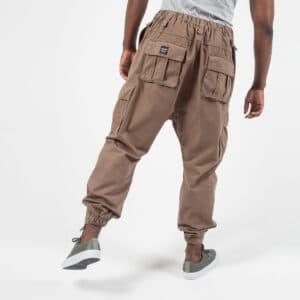 Pantalon cargo basic beige dos bis dcjeans